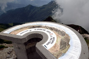 Le Grand Arc, Gipfel