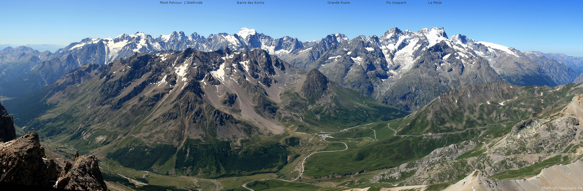 Grand Galibier nach SSO
